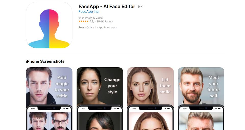U.S. Lawmaker Wants Russia's FaceApp Probed