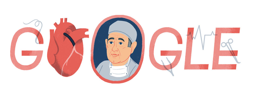 Google Doodle Honors Heart Surgeon René Favaloro, Who Pioneered Coronary Bypass Surgery