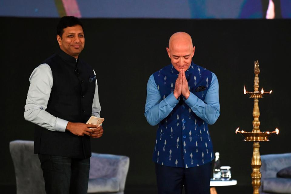 Jeff Bezos To Invest $1 Billion In India As Negative Sentiment Grows Towards The E-Commerce Retailer