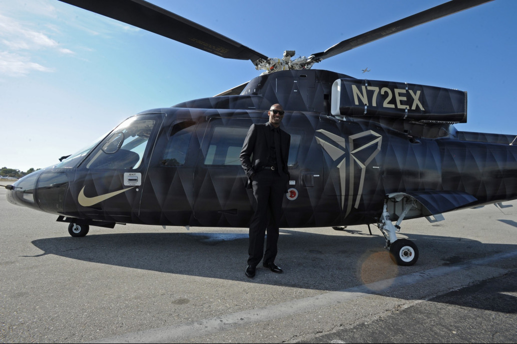 NBA Star, Kobe Bryant Had Long History Of Flying Helicopters