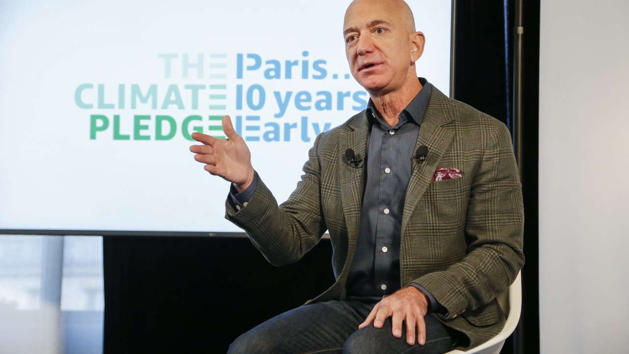 Jeff Bezos Pledges $10 Billion, 10% Of His Net Worth Toward Solving Climate Change