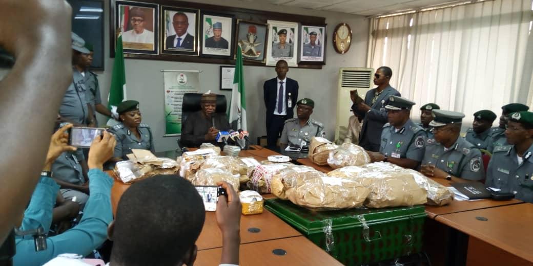Nigerian Customs Intercept $8 million At Lagos Airport